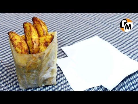 Картошка по-деревенски в духовке   Сделать картофель по-деревенски -- Голодный Мужчина, Выпуск 72