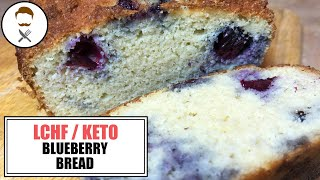 Blueberry Loaf || The Keto Kitchen