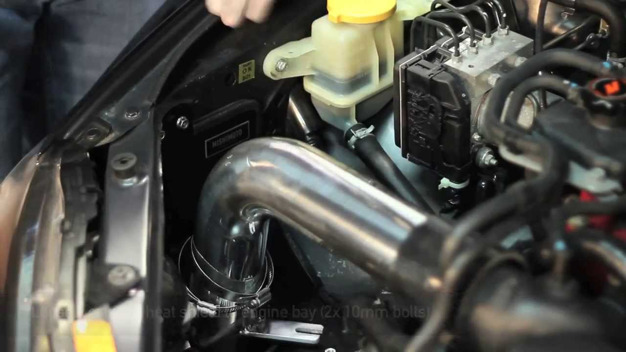 Check Engine Light Flashing >> How To Install: 2008 - 2014 Subaru WRX STI Performance Cold-Air Intake - YouTube