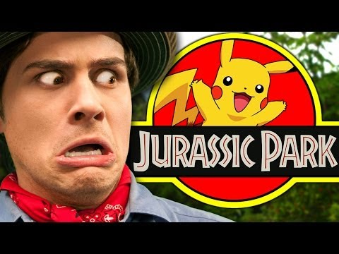 Jurassic Pokemon video