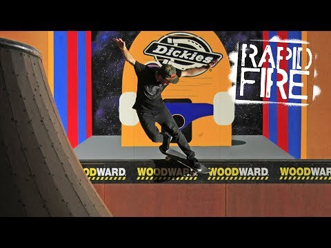 Rapid Fire: Brad McClain at Woodward Copper