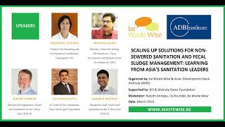 Financing Option for Different Components of Sanitation and Fecal Sludge Management in India