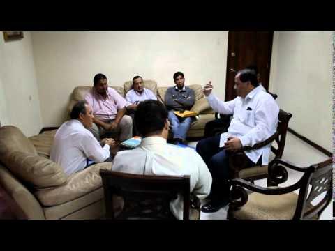 Reunión con representantes de la transportación