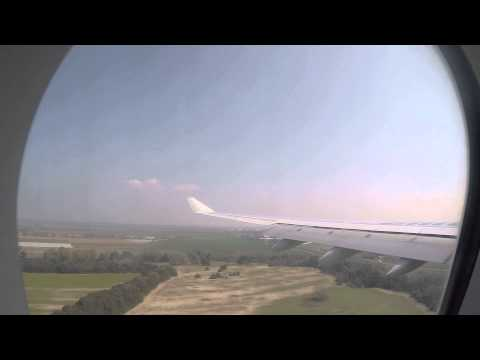 JFK - FCO - Alitalia Airbus A330 Arrival - Full HD