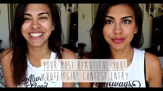 GRWM: Your Most Beautiful You #voteITgirl | Diana Moore