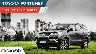 Toyota Fortuner | Features Explained | CarWale