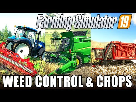WEED CONTROL AND CROPS | Farming Simulator 19 - Dev Blog #3
