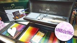 Unboxing the Faber-Castell Art & Graphic Collection Box!