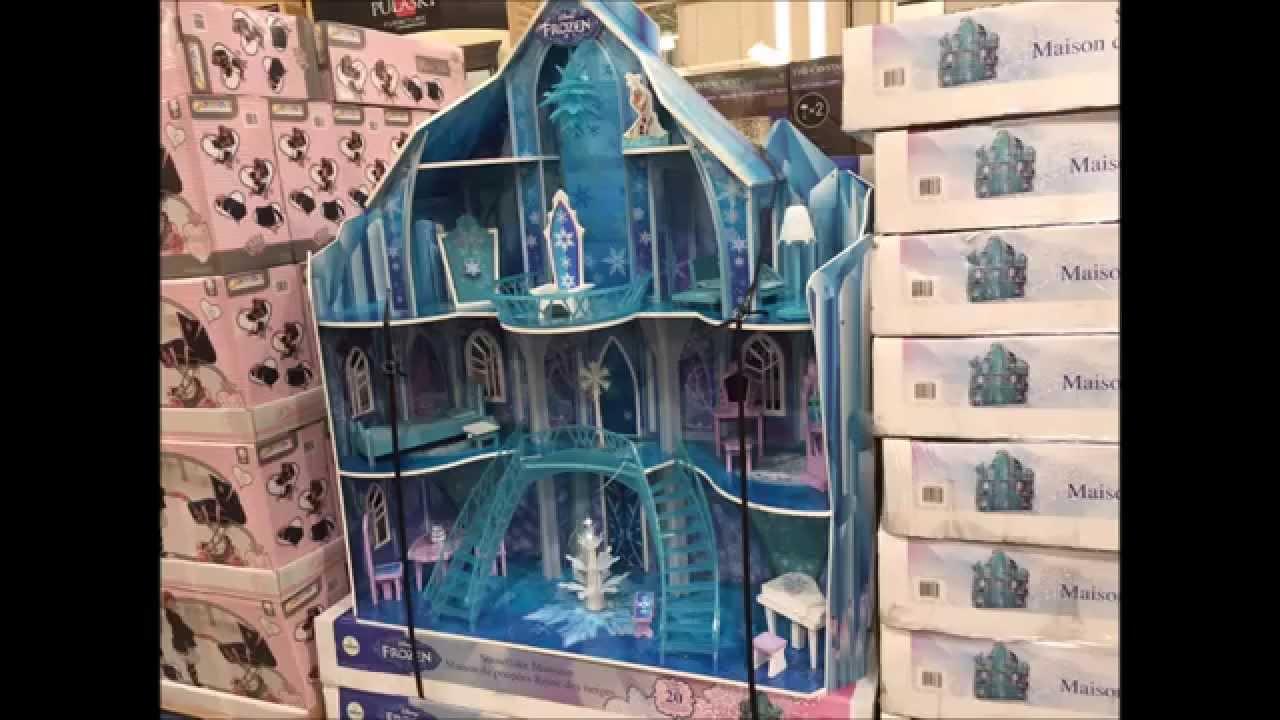 Amazoncom KidKraft Disney Frozen Ice Castle Dollhouse