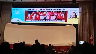 Gracia Choir SDK 6 PENABUR Kelapa Gading di Best Student Choir Festival