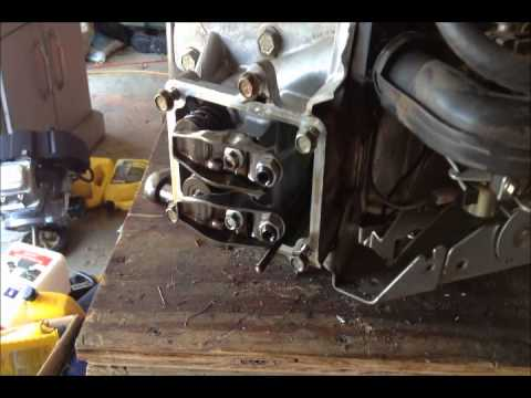 Briggs and Stratton 22 horse head removal
