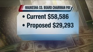 Waukesha County Board Chairman wants to cut his own salary in half