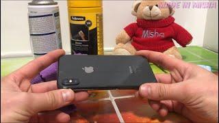 Cómo limpiar un iPhone X Max