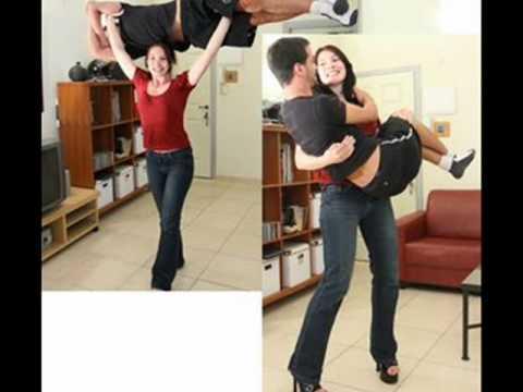 Girl Lifts Girl Overhead Girls Lifting Guys Overhead