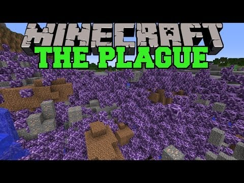 Minecraft: THE PLAGUE (BACTERIA THAT WIPES OUT THE WORLD!) Mod Showcase
