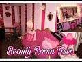 Pink Beauty Room Tour !  | Vintage , Barbie , Glamour | Annie Penta