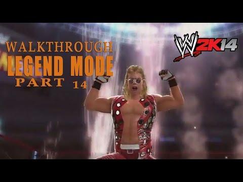 Diesel Vs Shawn Michaels  - Wrestlemania Xi - Walkthrough - Wwe 2k14 Part 14 video