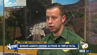 Border agents defend actions in triple fatal crash