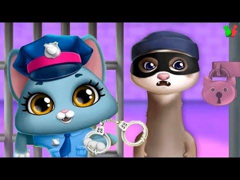 УЧИМ ПРОФЕССИИ #4 Полицейский ❀ Пожарник ✿ Доктор ❀ Строитель ✿ Развивающая Мульт Игра для Детей