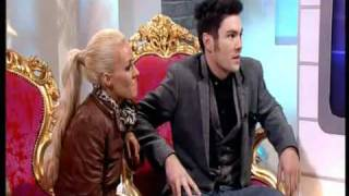 Sam Attwater & Brianne Delcourt best bits Dancing On Ice 2011 and interview on This Morning