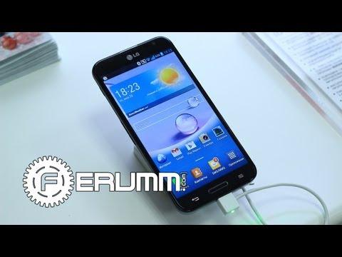 LG Optimus G Pro E988 Первое Знакомство. Репортаж с киевской презентации от FERUMM.COM