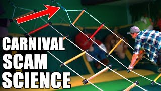 CARNIVAL SCAM SCIENCE- and how to win  from Mark Rober