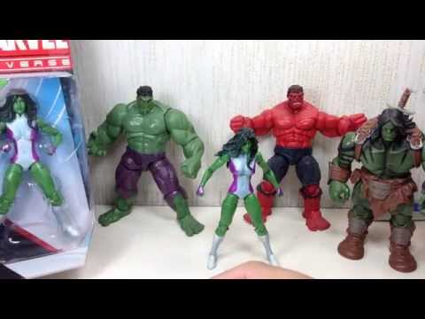 She Hulk Marvel Universe Toy Review