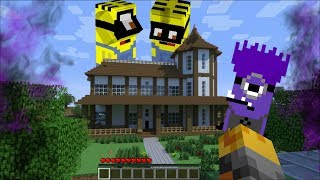 GIANT EVIL MINIONS ATTACK MY MINECRAFT HOUSE !! Minecraft Mods