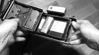 Sheet film in Polaroid Land Camera
