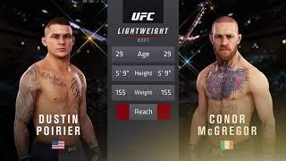 EA SPORTS™ UFC® 3:Conor McGregor DESTROYS Dustin Poirier to go 4-1 in series