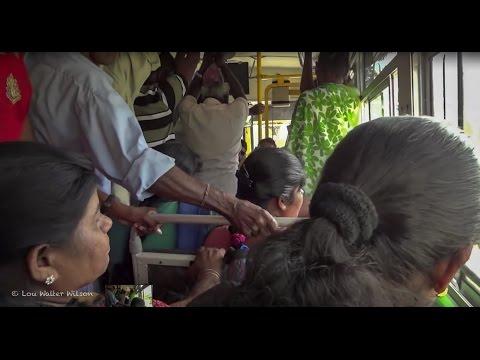 A Bus Journey Sri Lanka 2012