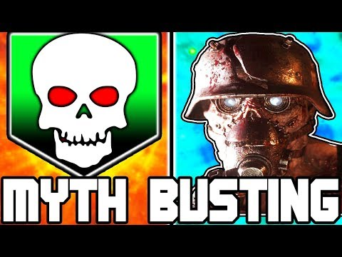INSTAKILL ALL BOSSES!!! | CALL OF DUTY ZOMBIES | MYTH BUSTING MONDAYS #102