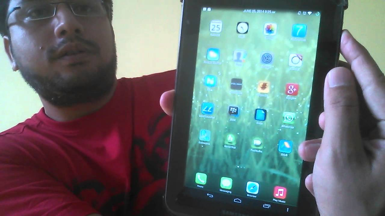 Capture Screenshot in Samsung Galaxy tab 2, 3, 4 - YouTube