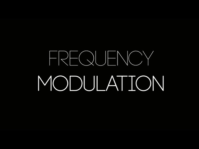 Project HBC Tutorial - Frequency Modulation and FM Synthesis in MaxMSP