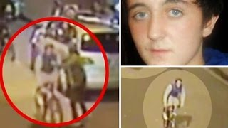 Alan Cartwright murder: Shocking CCTV shows moment 15-year-old......while cycling with friends