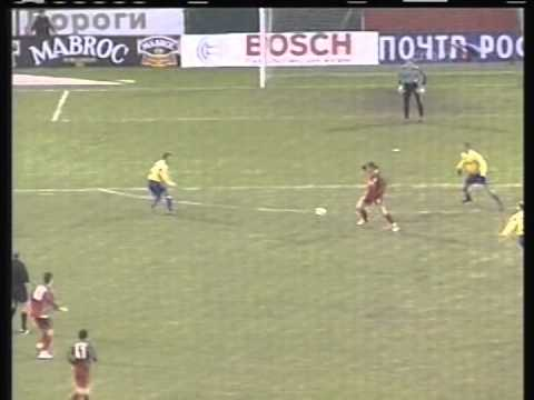 2005 (november 23) Lokomotiv Moscow (Russia) 4- Brondby (Denmark) 2 (UEFA Cup)