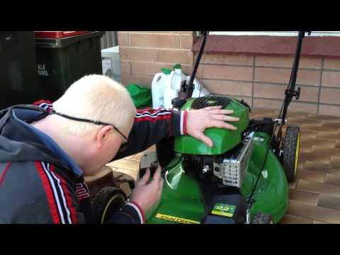 John Deere Js26 Push Mower Servicing Howto Youtube