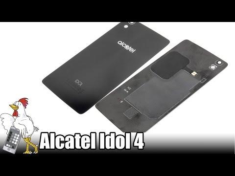 Guía del Alcatel Idol 4 (6055k): Cambiar tapa trasera con NFC