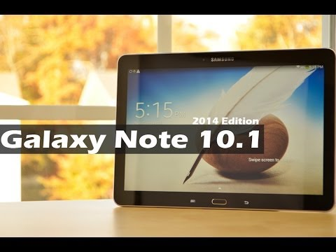 Samsung Galaxy Note 10.1 2014 edition - REVIEW