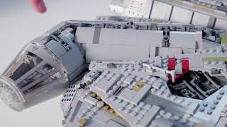 LEGO Star Wars UCS Millennium Falcon (75192) Designer-Video
