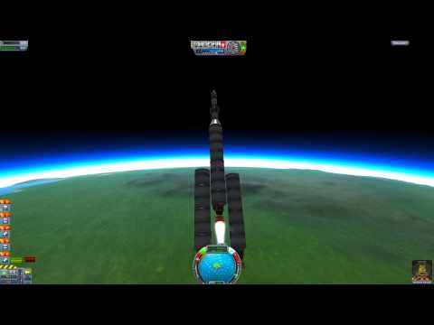 Kerbal Space Program Beginner's Guide - How to Get to the Mun (Moon) Part 1