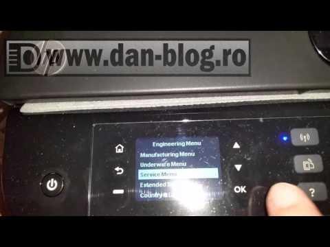 HP DeskJet 4645 Full Reset