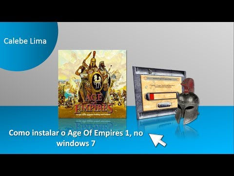Como instalar o Age Of Empires 1 no windows 7
