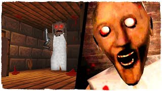 HOW TO ESCAPE FROM THE GRANNY HOUSE IN MINECRAFT! THE DIABOLIC GRANNY