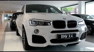 2015 New BMW X4 vs 2015 New BMW X3