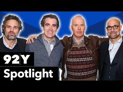 Mark Ruffalo, Michael Keaton, Stanley Tucci, Brian D'Arcy James On Spotlight: Reel Pieces