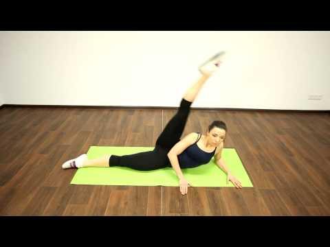 23. Фитнес конструктор 1-1-2-2. поднятие прямой ноги к плечу