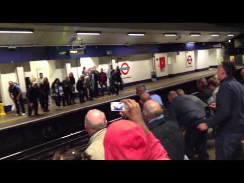 Man City Yaya Kolo Toure - Tube Station Cup Final