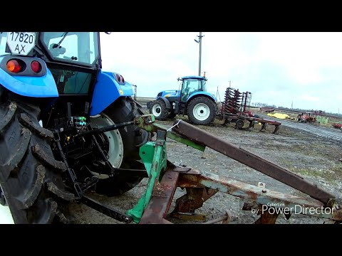 Отзыв о тракторах New Holland T 6090 + TD 5.110