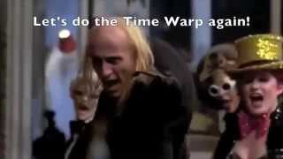 'Time Warp' Scene w/ Lyrics | The Rocky Horror Picture Show